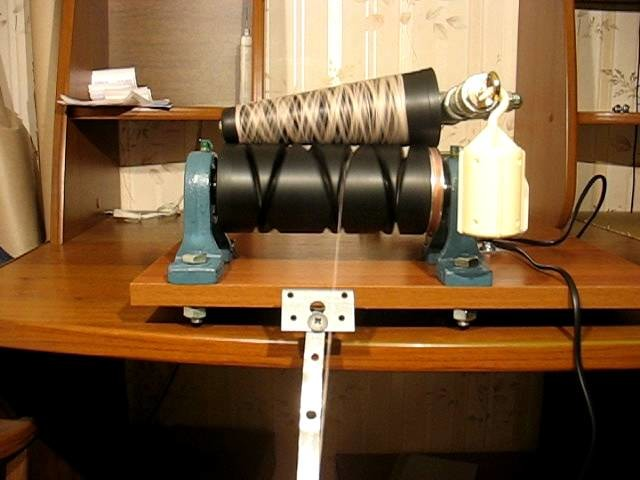 Electric Wool Winder. Yarn Winder. Cone winder. Wollwickler. Моталка для пряжи