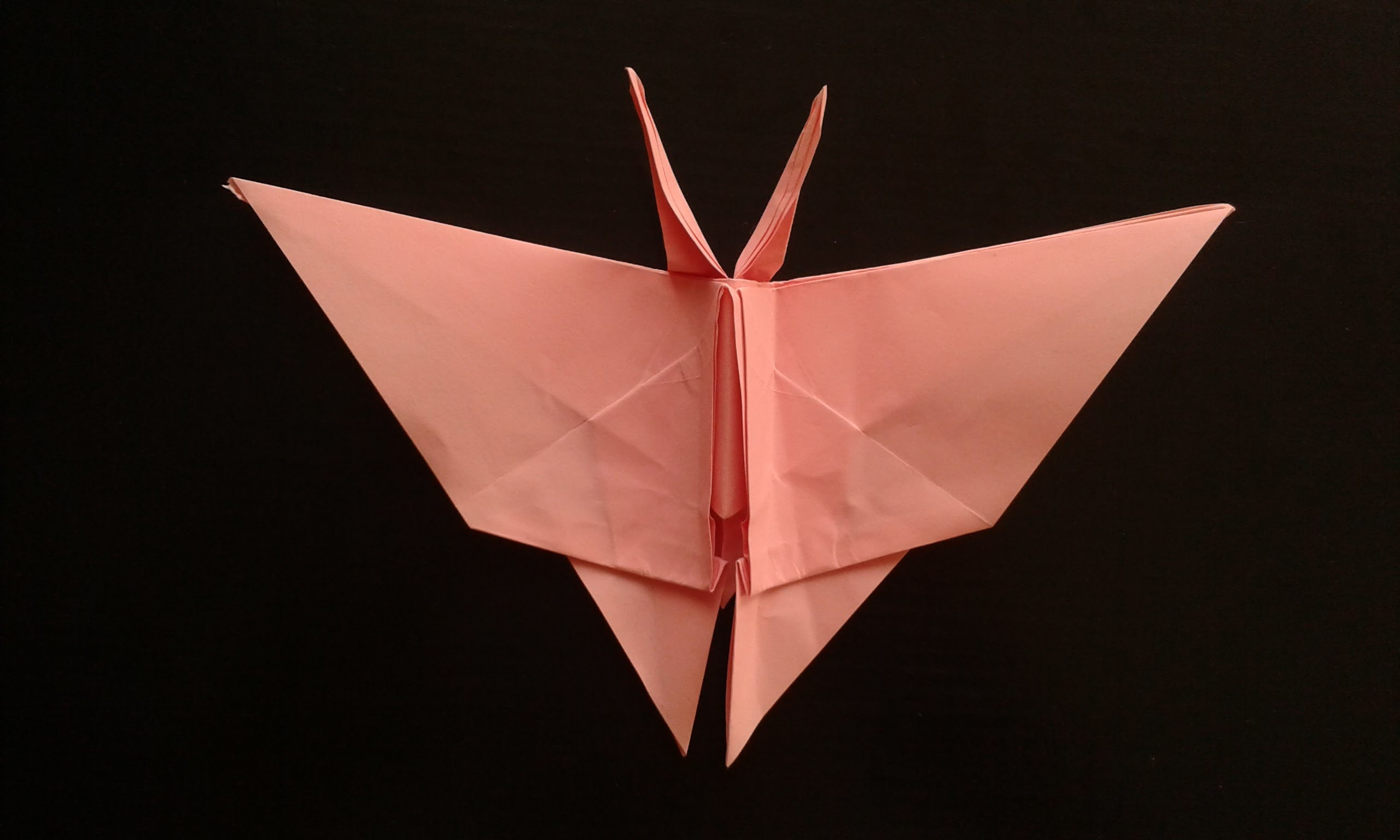 How to make an origami Butterfly оригами бабочка