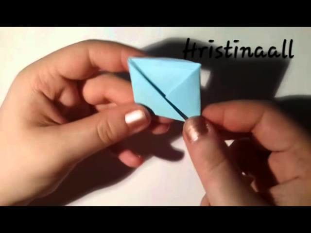 Origami lessons #4 envelope.конверт.