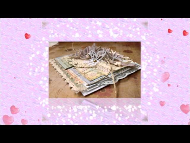 Scrapbooking  скрапбукинг card shebby shic