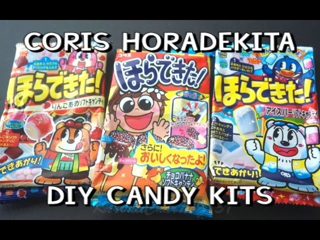Coris Horadekita Japanese DIY Candies