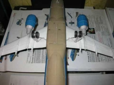 Airbus A320 paper model