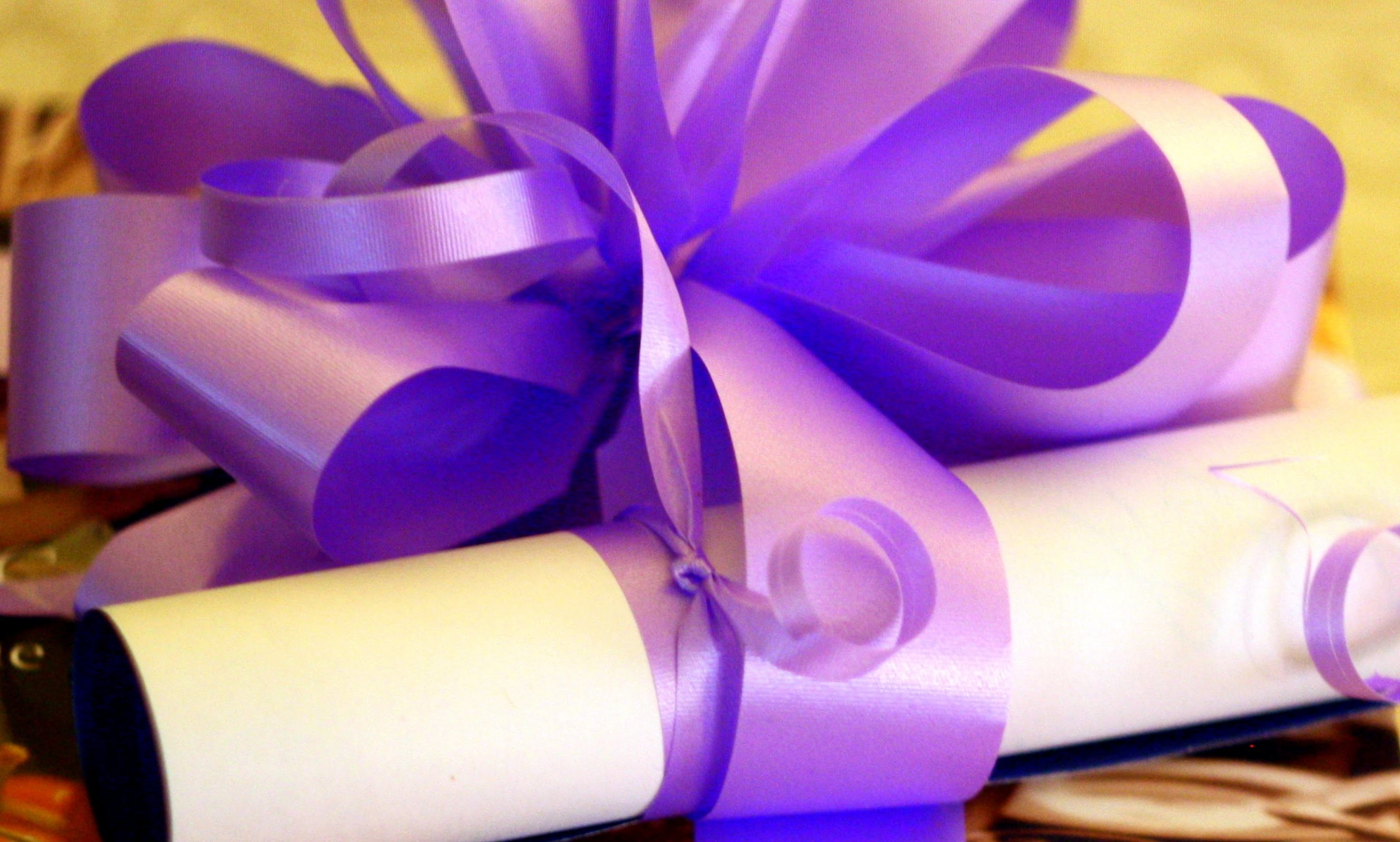 How to decorate a gift. Как упаковать подарок! Tutorial. Ribbon Bow.