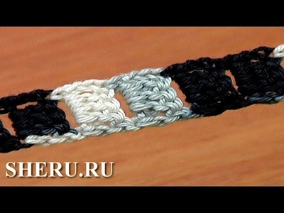 Easy to Crochet Cord Tutorial 9  Вязаные шнуры