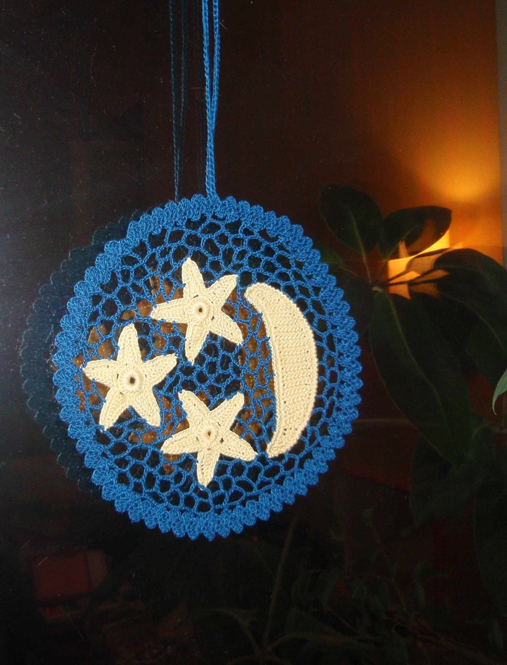 Ирландское кружево. Звездочка.How to Crochet a Star.