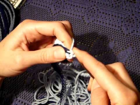 How to crochet with Volan Ribbon