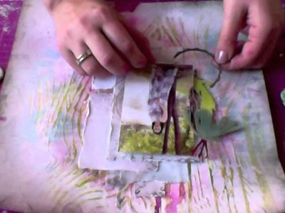 Irina Gerschuk: step-by-step tutorial (scrapbook LO)