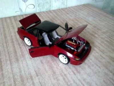 Nissan Silvia s13 Paper model