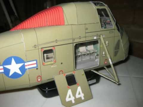 Sikorsky CH-34C Seahorse 1:32 paper model (part 1)