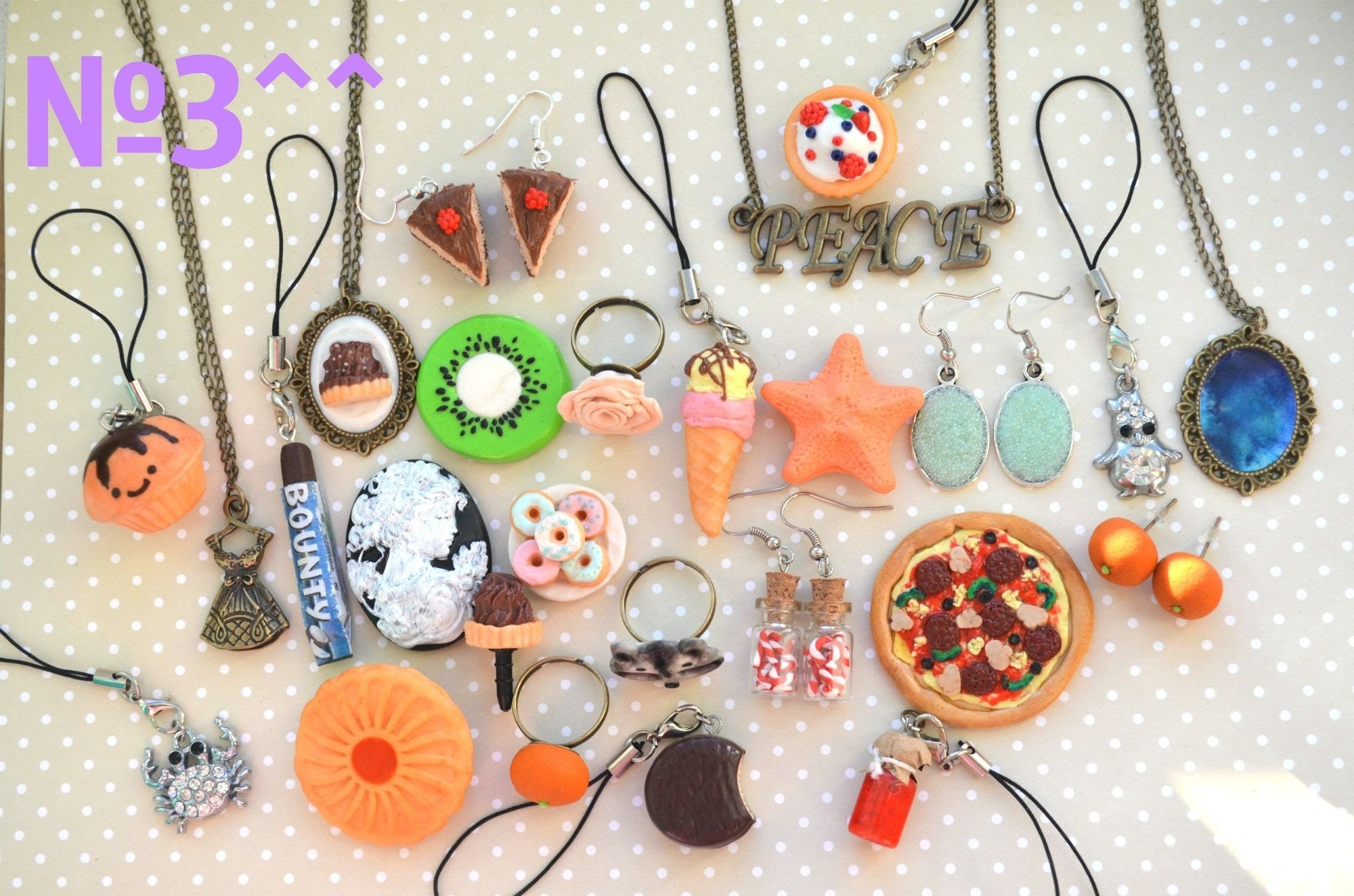 My jewelry from polymer clay 3^^