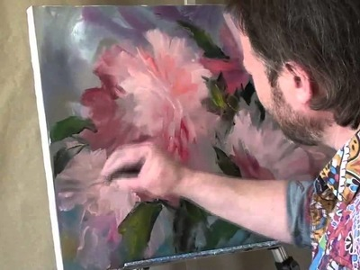FREE: I. Sakharov. How to paint a Peony