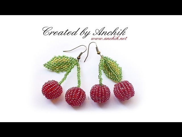Tutorial: beaded earrings