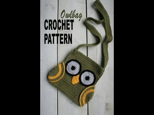 "Вязаные сумки ""сова"". Crochet Owl Bag ."