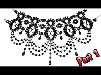 Tutorial: Gothic necklace