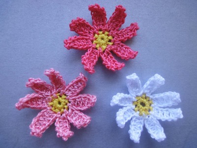 Цветочек  Little Flower Crochet