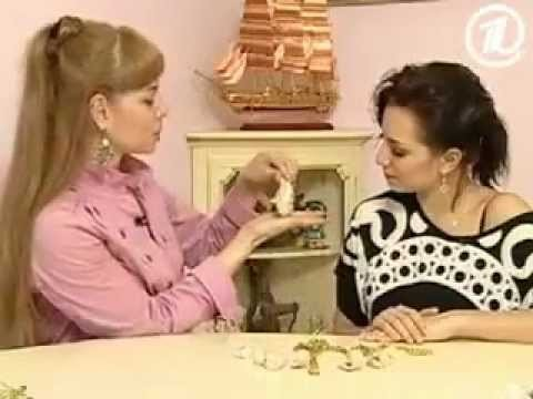 .Украшения из ракушек. (Jewelry made ​​of shells.)