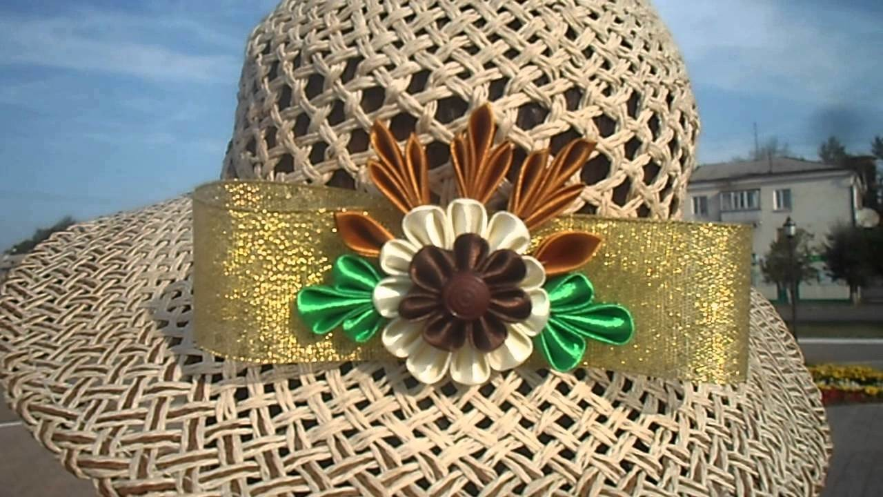 Rukodelie Goplay. Flower - decoration for hats