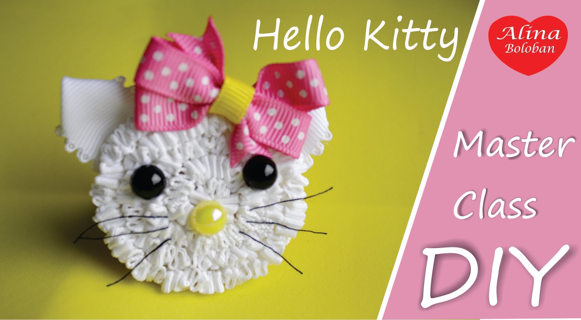 Hello Kitty - Резинка для Волос. How to Set Hair Elastics Hello Kitty