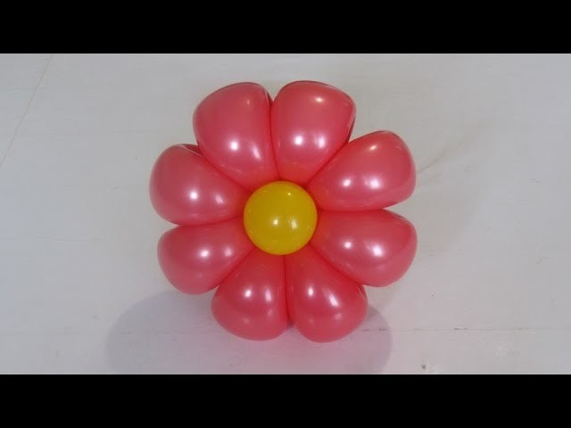 Ромашка 8 лепестков из шаров. 8-petals flower balloon