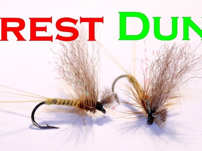 Fly tying dry fly