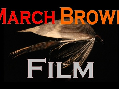 March Brown film. Fly tying wet fly March Brown (Вязание классических мокрых мушек)