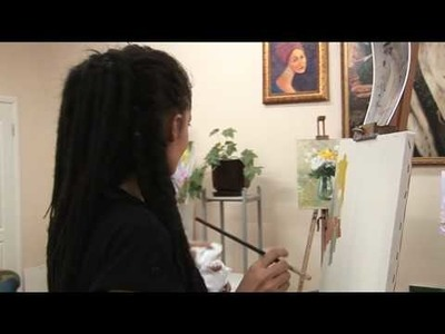 Presentation of the lesson of painting. Презентация урока живописи