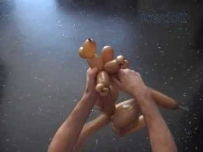 Kangaroo Balloon Twisting Animals