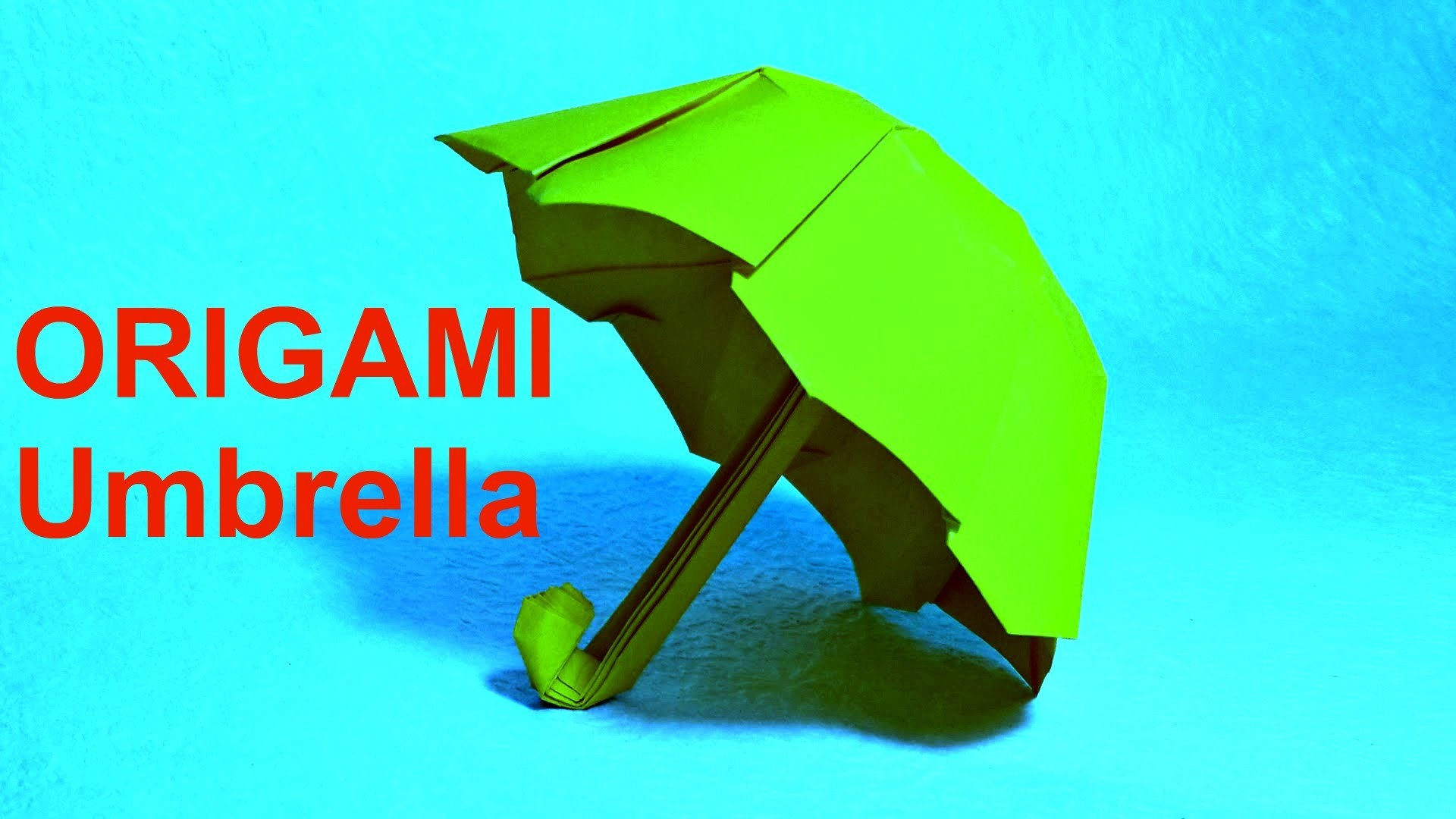 Origami(Оригами.) Paper Umbrella : : DIY PAPER CRAFTS