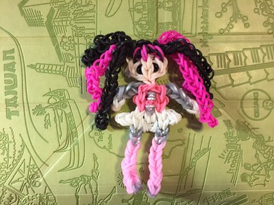 Дракулаура (Monster high) из Rainbow Loom