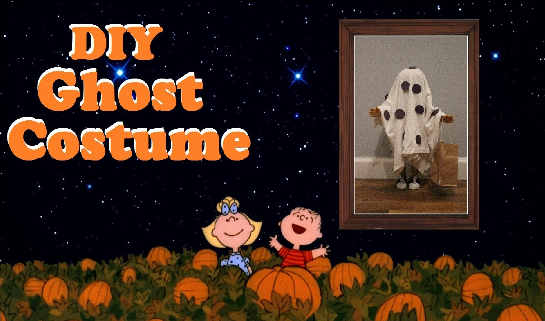 DIY Charlie Brown Dolloween Costume Ѽ