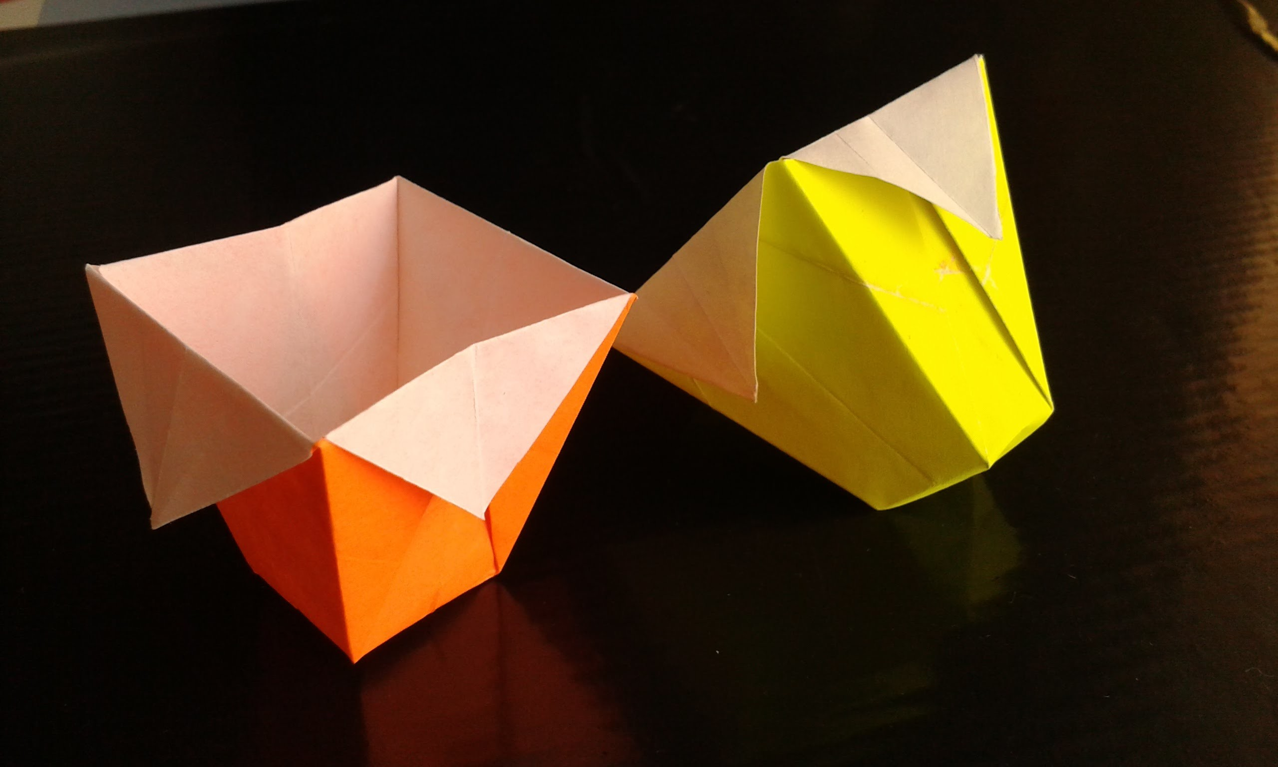 How To Make Paper Basket Origami