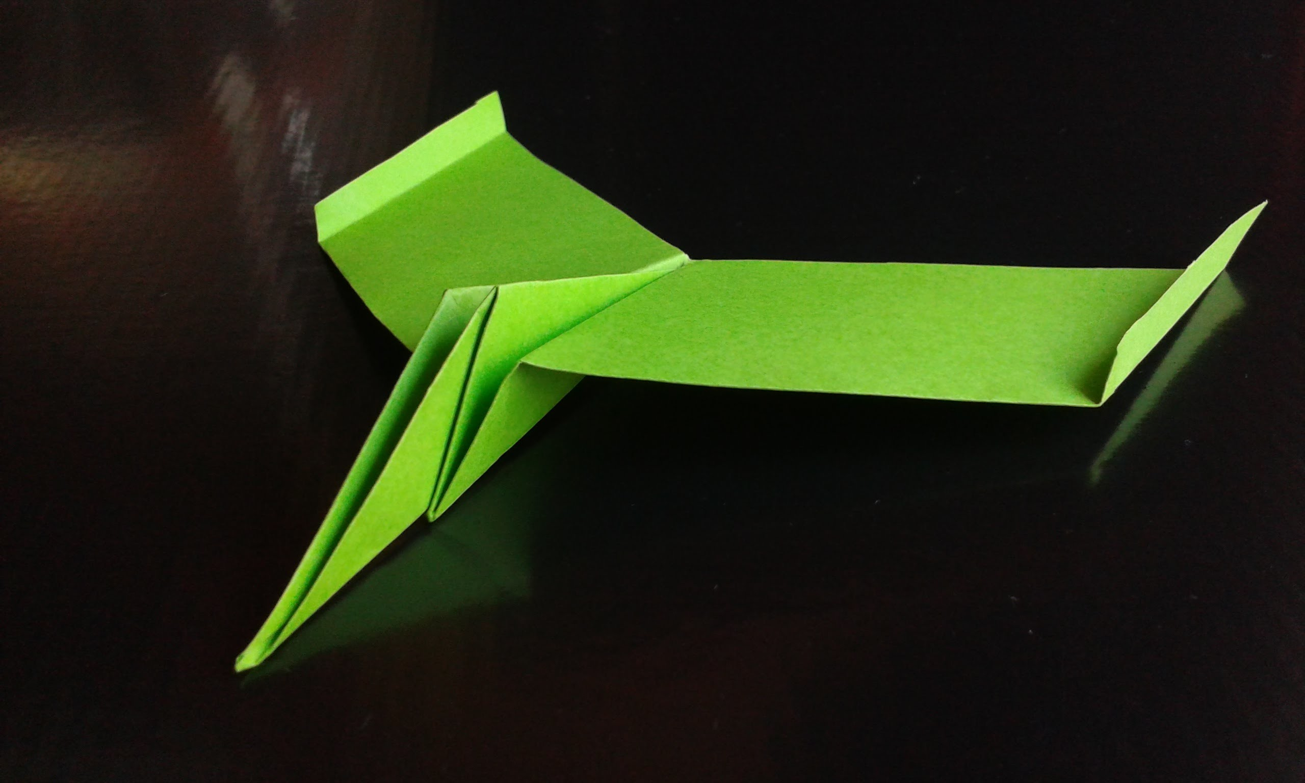 How to make a Paper Airplane mosquito origami