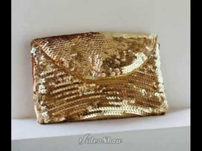 Мастер-класс клатч из пайеток.Master-class of a clutch of sequins