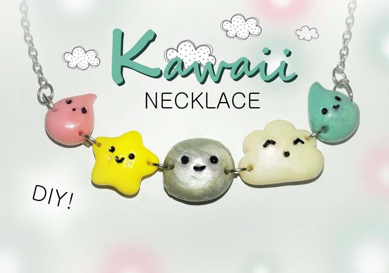 Kawaii Necklace ♦ Polymer Clay Tutorial