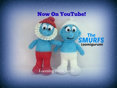 Rainbow Loom SMURF BODY (Part 2) - Loomigurumi Amigurumi Hook Only зависть Лумигуруми