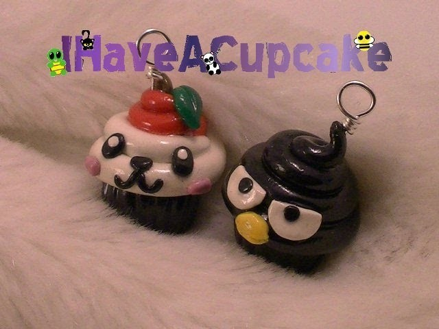 Badtz-Maru and Pandapple Cupcakes