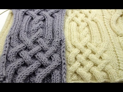 Front Cross Cable Stitch _ Араны (часть3)