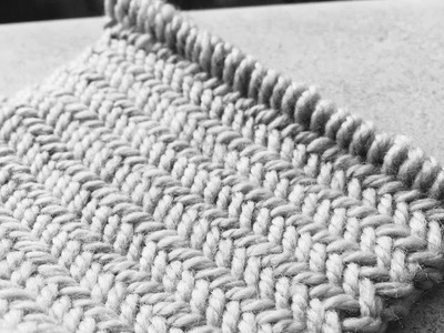 Knitting patterns Herringbone stitch pattern Le point de chevron  Вязать узор Ёлочка