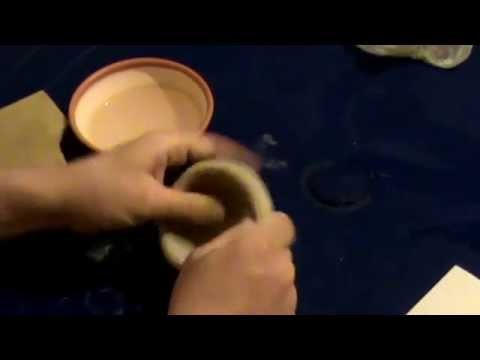 How to make a clay pot.Pottery class.Ручная Лепка Мастер-класс