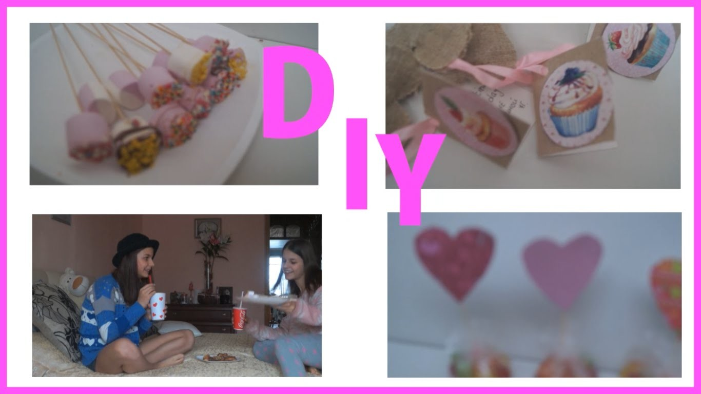 Valentines DIY my ROOM dicor & Gift(день Святого В