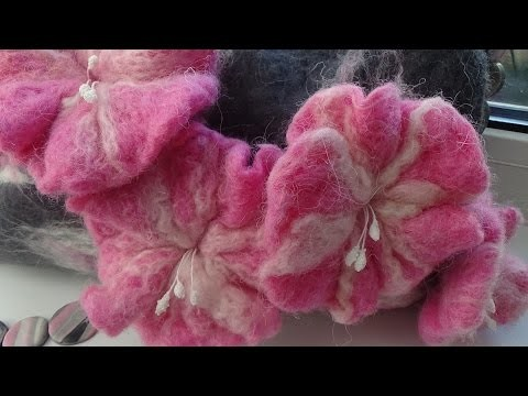 DIY Фелтинг. Сумка своими руками Часть 1. Felting. Bag with your own hands Part 1