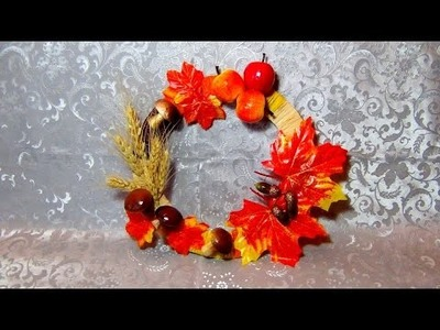 DIY - Осенний Венок - Autumn Wreath