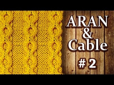 How to Knit a Chain Cable (part#2)
