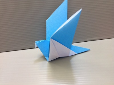 How to make a Paper Bird Origami. Kак сделать Птицу из Бумаги Оригами