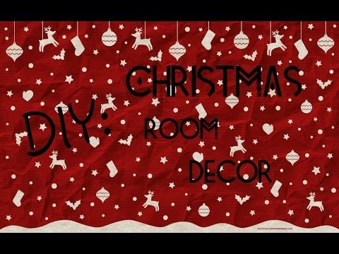 DIY : Christmas Room Decor  by Ira Glam