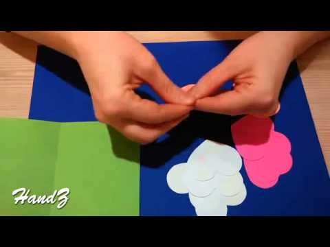 2015 Beautiful Pop up card Открытка объемная Easter Ideas for gift Paper hoby craft Youtube