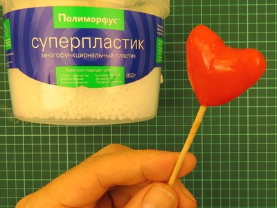 How to make pvc polymorph 3D heart