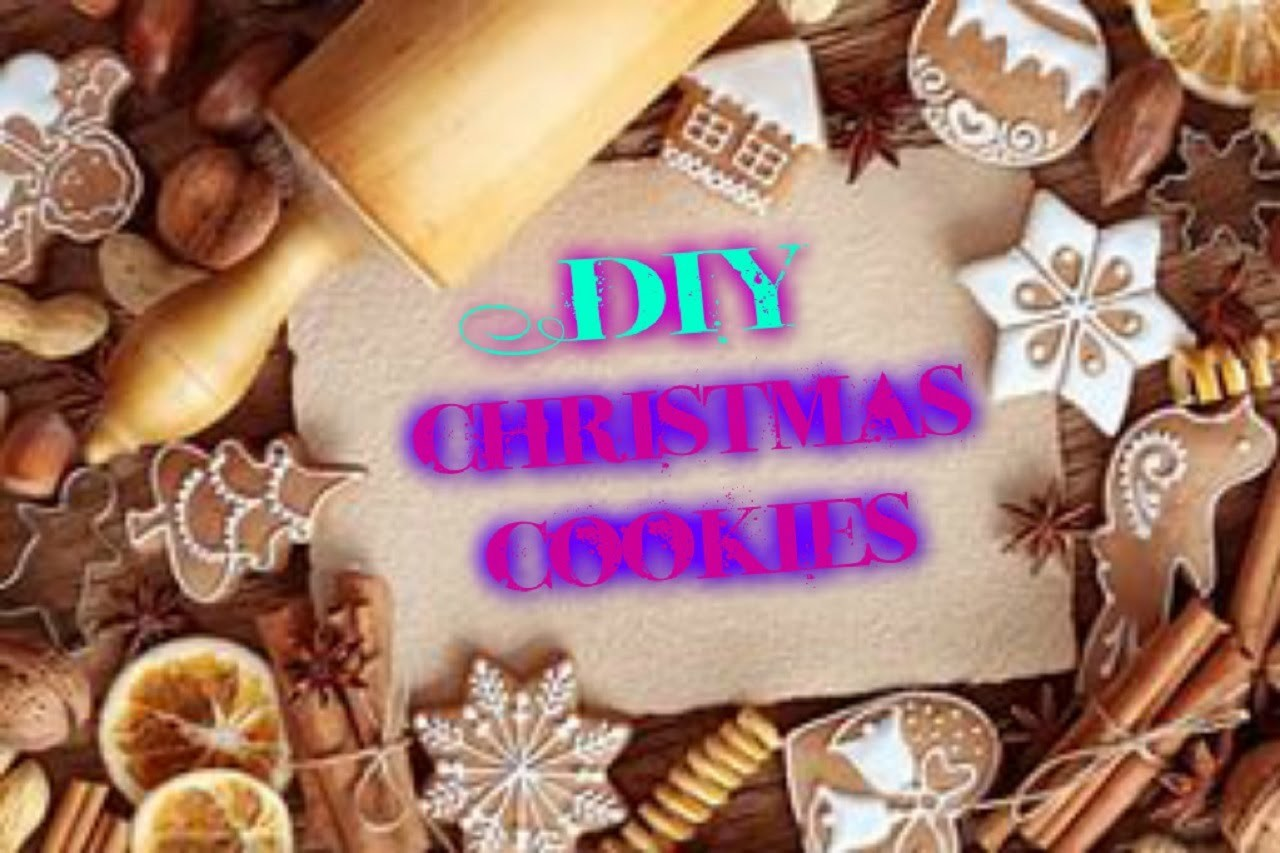 DIY-Christmas cookies