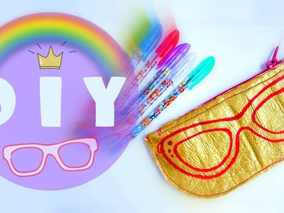 Яркий пенал♥Sunglasses Case♥DIY♥TinkerDIY