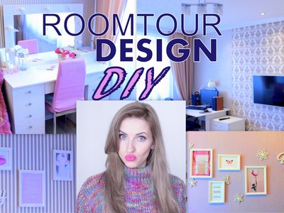 РУМ ТУР+Идеи декора. ROOM TOUR+DIY Decorating Ideas